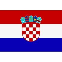 Lipp Horvaatia, 90x150cm
