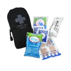 Аптечка первой помощи Kombat, маленькая, черный
