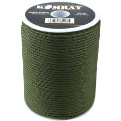 3mm Para Cord köis, 100m, oliivroheline