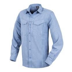 Helikon Defender Mk2 Gentleman Shirt® - меланж, светло-синий