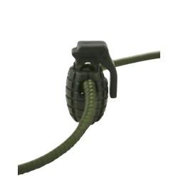 Nööri stopper Granaat 8tk, oliivroheline