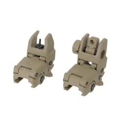 CS Back Up Rifle sight kit gen 1, coyote tan