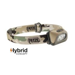 Petzl Tactikka® +RGB налобный фонарь, camouflage