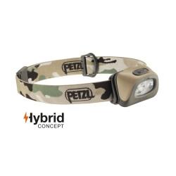 Petzl Tactikka® +Hybrid headlamp, camouflage