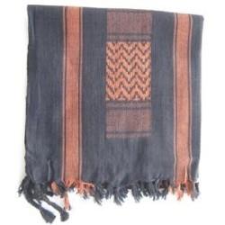 Shemagh (шарф), черный / коричневый