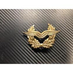 """Bundeswehr Peaked Cap insignia 2 """"Heer"""", metal"""