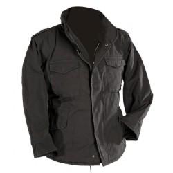 Стиль США M65 поле куртка, черный
