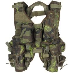 CZ tactical vest, M 95 camo, like new