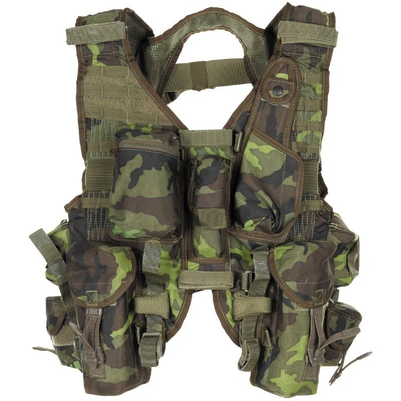Tsehhi taktikaline vest, M95 camo, uueväärne