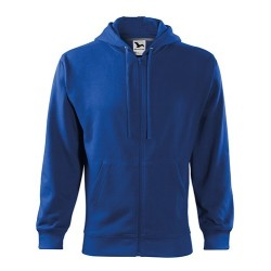 Malfini Trendy Zipper sweatshirt, royal blue