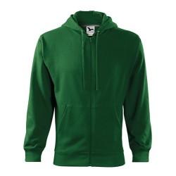 Толстовка Malfini Trendy Zipper, зеленый