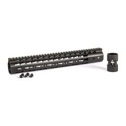 "Evolution aluminium 6065 Keymod rail 13,5"", black"