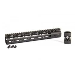 "Evolution aluminium 6065 Keymod rail 12"", black"