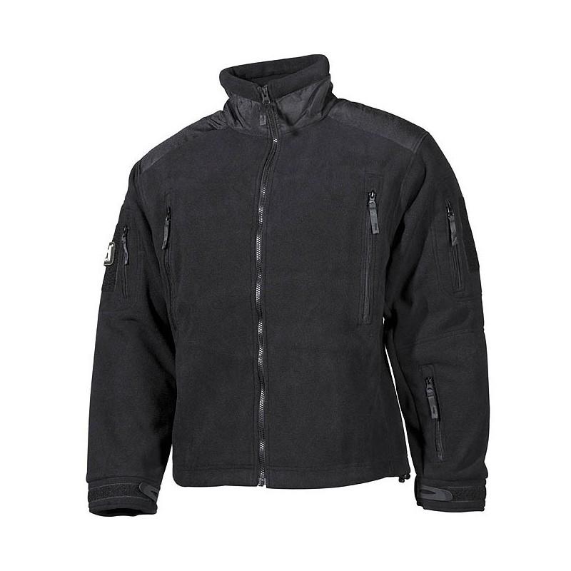 """Fleece Jacket """"Heavy-Strike"""", black"""