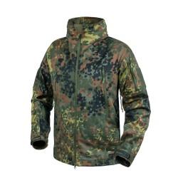 GUNFIGHTER Куртка - Windblocker Shark Skin - Flecktarn