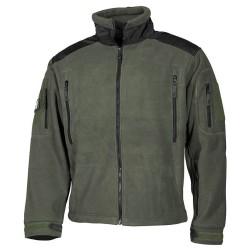 """Fleece Jacket """"Heavy-Strike"""", od green"""