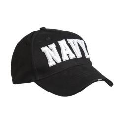 "Mil-tec baseball cap ""NAVY"", black"