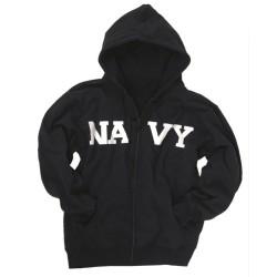 """Hoodie """"NAVY"""", dark blue"""
