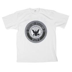 """T-särk - """"United States Navy"""", valge"""