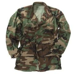 Американская куртка с надписью, woodland