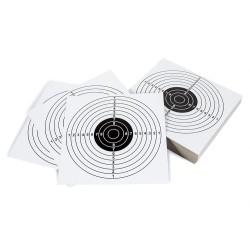 Бумажные мишени для стрельбы 100 шт., 14 х 14 мм, цель II