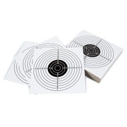 Paper Shooting Targets 100pcs, 14 x 14mm, Target II
