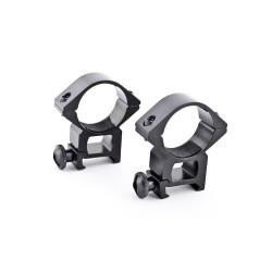 Phantom Rail rings 30mm for flashlight or optics, high