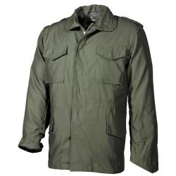 US Field Jacket M65, lining, Mod., OD green