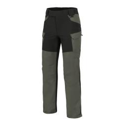 Helikon HYBRID OUTBACK PANTS® - DuraCanvas® - Taiga Green / Black