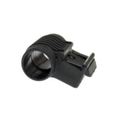 Элемент Airsoft 25мм для фонарика, черный