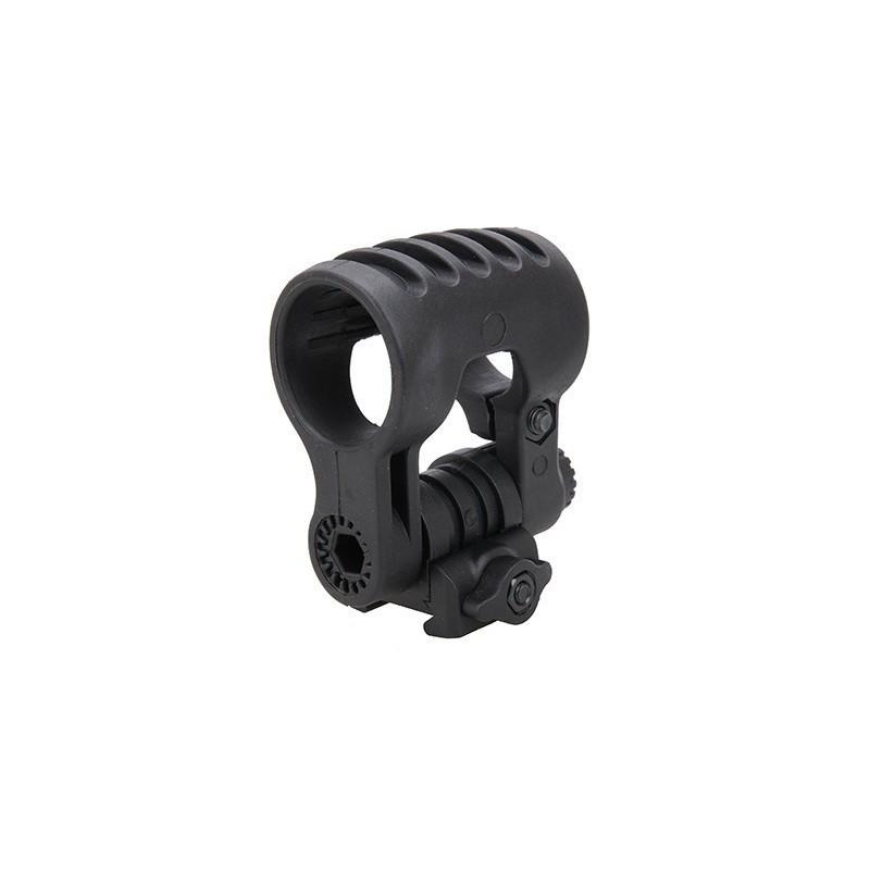 Element Airsoft Reguleeritav taskulambi kinnitus, 25mm, must