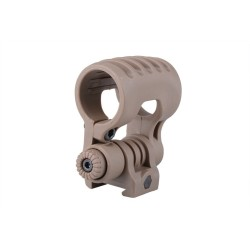 Element Airsoft Adjustable 25mm Flashlight mount, dark earth