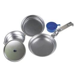 Kerge, alumiiniumist Deluxe toidunõude komplekt