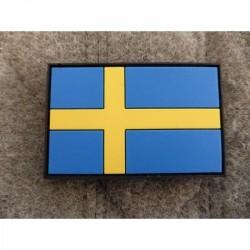 Takjakinnitusega lipu embleem - Rootsi