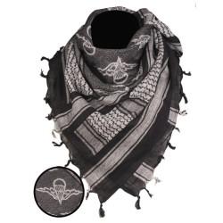 "Shemagh (шарф) ""Paratrooper"", черный / белый"