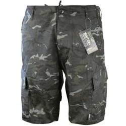 Kombat ACU lühikesed püksid, BTP Black