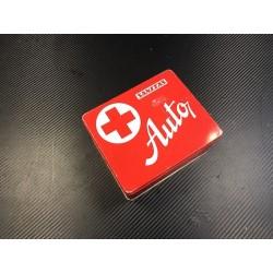 Czechoslovakian car first aid kit from 80-s