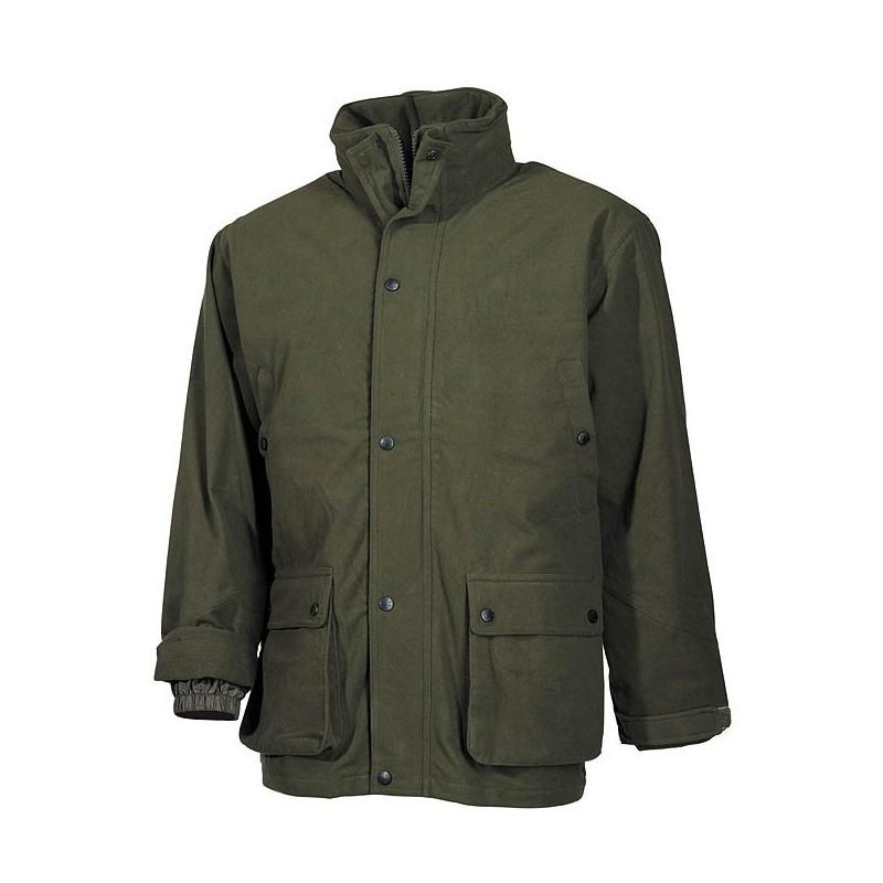 Kуртка, Поли Трикотаж, OD зеленый