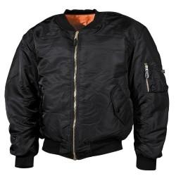 США Рейс Куртка, MA1, Mod., черный