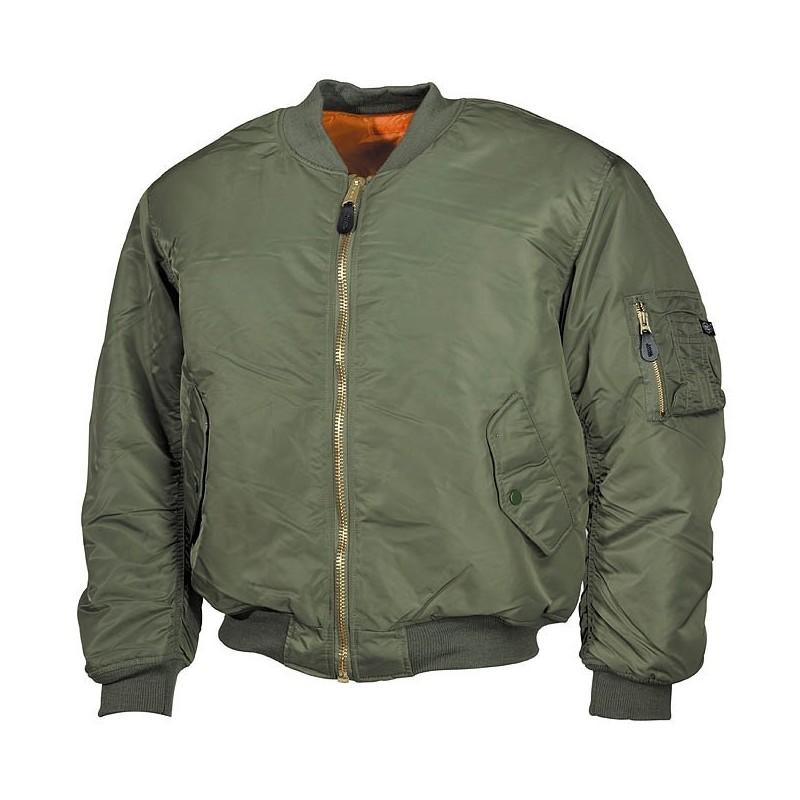 США Рейс Куртка, MA1, Mod., OD зеленый