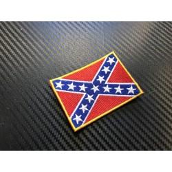 """Текстильный патч, """"Confederate Battle Flag"""""""