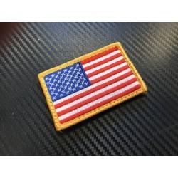 "Riidest velcro embleem, ""United States"", vasak"