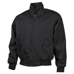 """Куртка """"английский стиль"""", подкладка, черный"""