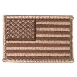 """Текстильная липучке патч desert, """"United States"""", левые"""