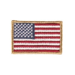 """Riidest velcro embleem, """"United States"""", väike"""