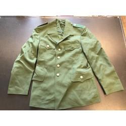 Куртка немецкая BGS форменная, зеленая