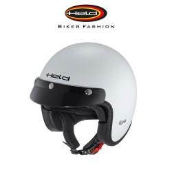 Held Black Bud шлем, белый / матовый