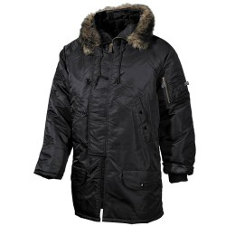 Полярный Куртка, N3B, черный