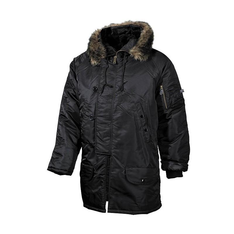 Polar Jacket, N3B, black