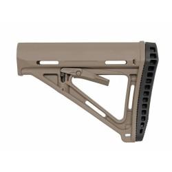 Ergonomic Carbine stock, dark earth